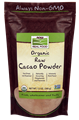 Picture of NOW Organic Raw Cacao Powder, 12 oz