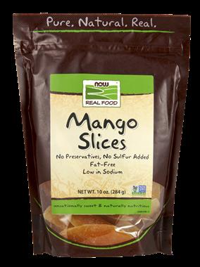 Picture of NOW Mango Slices, 10 oz