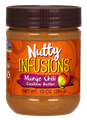 Picture of NOW Ellyndale Naturals Nutty Infusions Mango Chili Cashew Butter, 10 oz