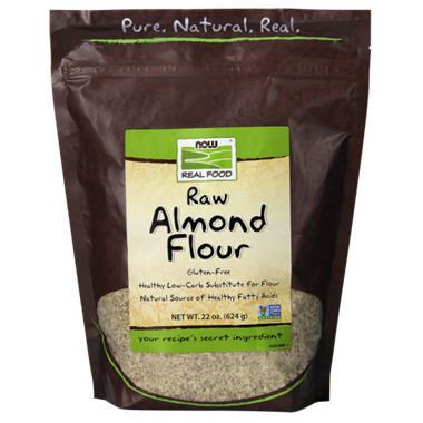 Picture of NOW Raw Almond Flour, 22 oz