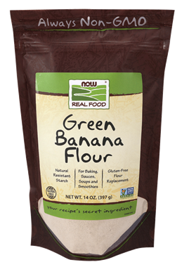 Picture of NOW Green Banana Flour, 14 oz