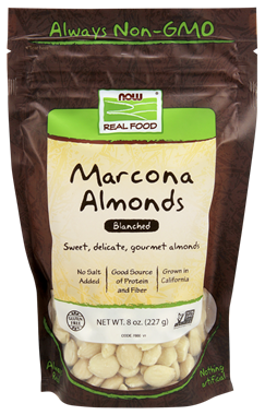 Picture of NOW Marcona Almonds, 8 oz