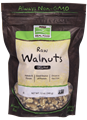 Picture of NOW Raw Walnuts, 12 oz