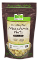 Picture of NOW Dry Roasted Macadamia Nuts, 9 oz