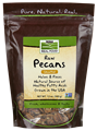 Picture of NOW Raw Pecans, 12 oz