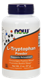Picture of NOW L-Tryptophan Powder, 2 oz