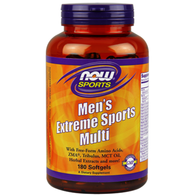 Picture of NOW Men's Extreme Sports Multi, 180 softgels