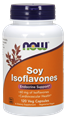 Picture of NOW Soy Isoflavones, 120 vcaps
