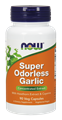 Picture of NOW Super Odorless Garlic, 90 vcaps