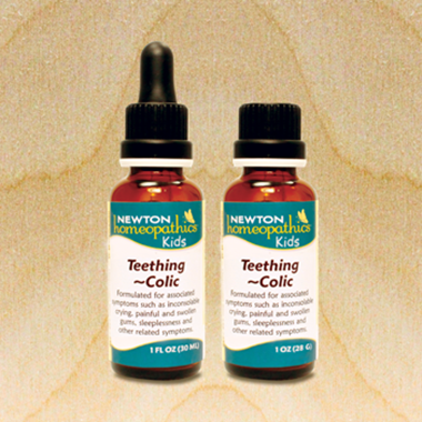 Picture of Newton Homeopathics Kids Teething & Colic, 1 fl oz