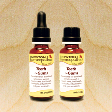 Picture of Newton Homeopathics Teeth & Gums, 1 fl oz