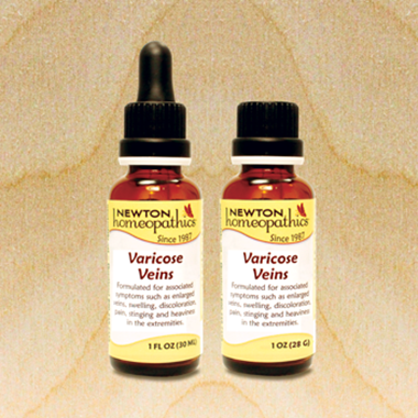 Picture of Newton Homeopathics Varicose Veins, 1 fl oz