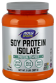 Picture of NOW Soy Protein Isolate Powder, Creamy Vanilla, 2 lbs