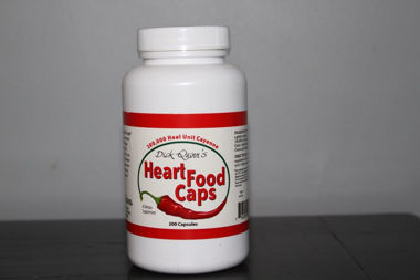 Picture of Dick Quinn's Heart Food Caps, 200 caps