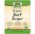 Picture of NOW Organic Beet Sugar, 3 ibs