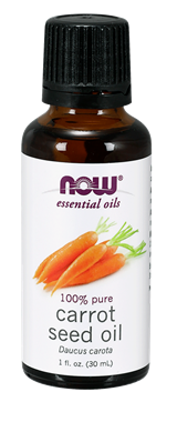 Picture of NOW Carrot Seed Oil, 1 fl oz