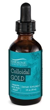 Picture of Harmonic Innerprizes Colloidal Gold, 2 fl oz