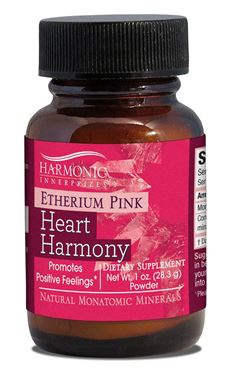 Picture of Harmonic Innerprizes Etherium Pink Heart Harmony, 1 oz powder
