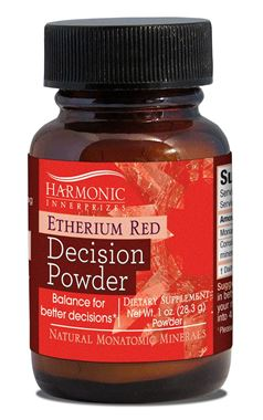 Picture of Harmonic Innerprizes Etherium Red Decision Power, 1 oz powder