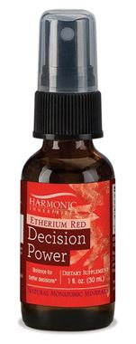 Picture of Harmonic Innerprizes Etherium Red Decision Power Mineral Essence Spray,  1 fl oz