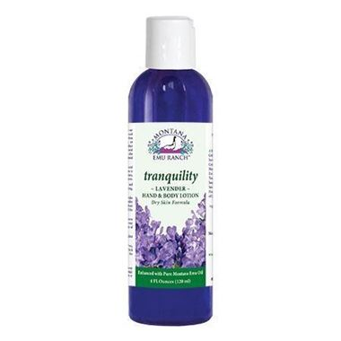 Picture of Montana Emu Ranch Tranquility Lavender Hand & Body Lotion, 4 fl oz