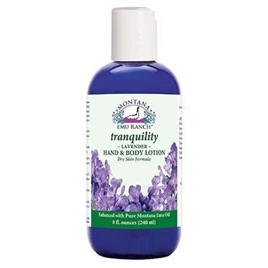 Picture of Montana Emu Ranch Tranquility Lavender Hand & Body Lotion, 8 fl oz