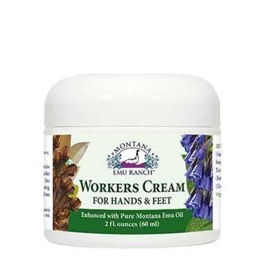Picture of Montana Emu Ranch Workers Cream for Hands & Feet, 2 fl oz