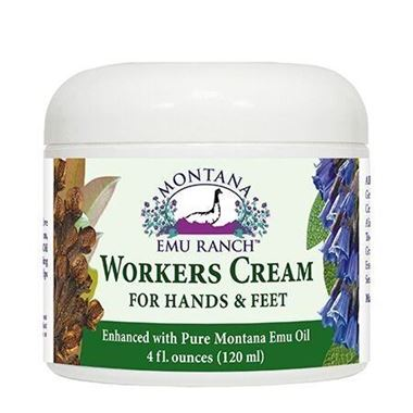 Picture of Montana Emu Ranch Workers Cream for Hands & Feet, 4 fl oz