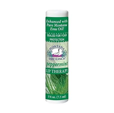 Picture of Montana Emu Ranch Lip Therapy, Peppermint, 0.25 fl oz