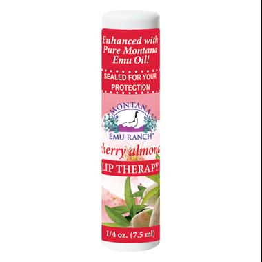 Picture of Montana Emu Ranch Lip Therapy, Cherry Almond, 0.25 fl oz