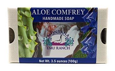 Picture of Montana Emu Ranch Handmade Soap, Aloe Comfrey, 3.5 oz