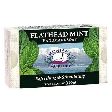 Picture of Montana Emu Ranch Handmade Soap, Flathead Mint, 3.5 oz