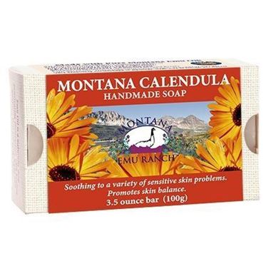 Picture of Montana Emu Ranch Handmade Soap, Montana Calendula, 3.5 oz
