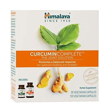 Picture of Himalaya Herbals Curcumin Complete, 1 kit