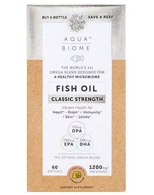 Picture of Enzymedica Aqua Biome Fish Oil Classic Strength, 60 softgels