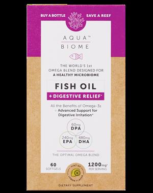 Picture of Enzymedica Aqua Biome Fish Oil Digestive Relief, 60 softgels