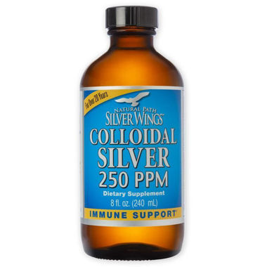 Picture of Natural Path Silver Wings Colloidal Silver 250 PPM, 8 fl oz
