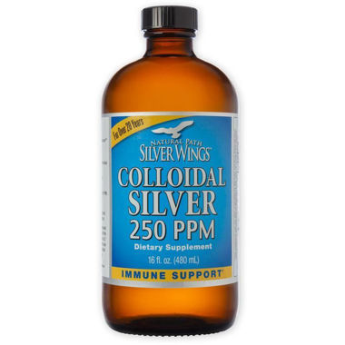Picture of Natural Path Silver Wings Colloidal Silver 250 PPM, 16 fl oz