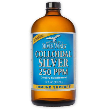 Picture of Natural Path Silver Wings Colloidal Silver 250 PPM, 32 fl oz