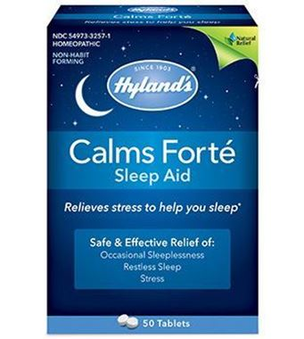 Picture of Hyland's Calms Forte Sleep Aid, 50 tabs