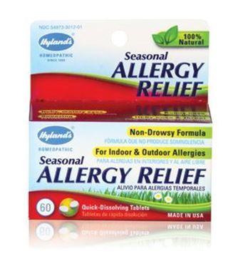 Picture of Hyland's Seasonal Allergy Relief, 60 tabs