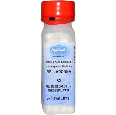 Picture of Hyland's Belladonna 6x, 250 tabs