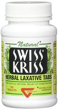 Picture of Natural Swiss Kriss Herbal Laxative, 120 tabs