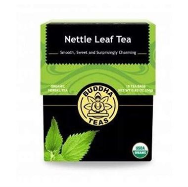 Picture of Buddha Teas Nettle Leaf Tea, 18 tea bags