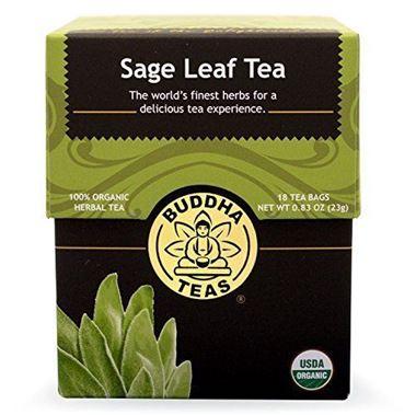 Picture of Buddha Teas Sage Leaf Tea, 18 tea bags