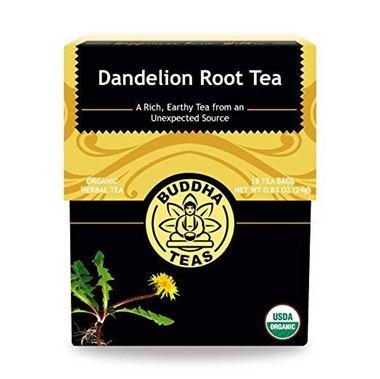 Picture of Buddha Teas Dandelion Root Tea, 18 tea bags
