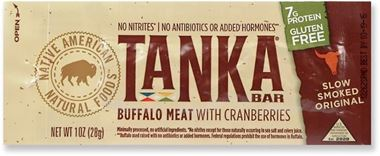 Picture of Tanka Bar Buffalo Meat With Cranberries, 1 oz