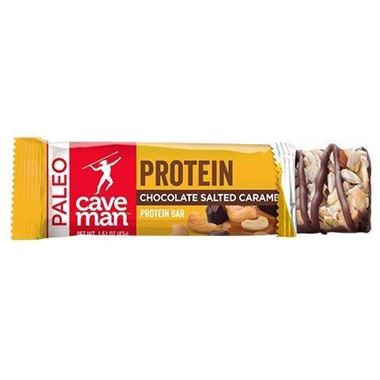 Picture of Caveman Chocolate Salted Caramel Protein Bar, 1.51 oz