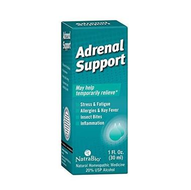 Picture of NatraBio Adrenal Support, 1 fl oz