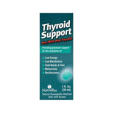 Picture of NatraBio Thyroid Support, 1 fl oz